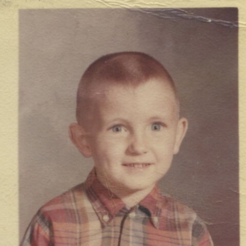 Kevin Williamson de niño