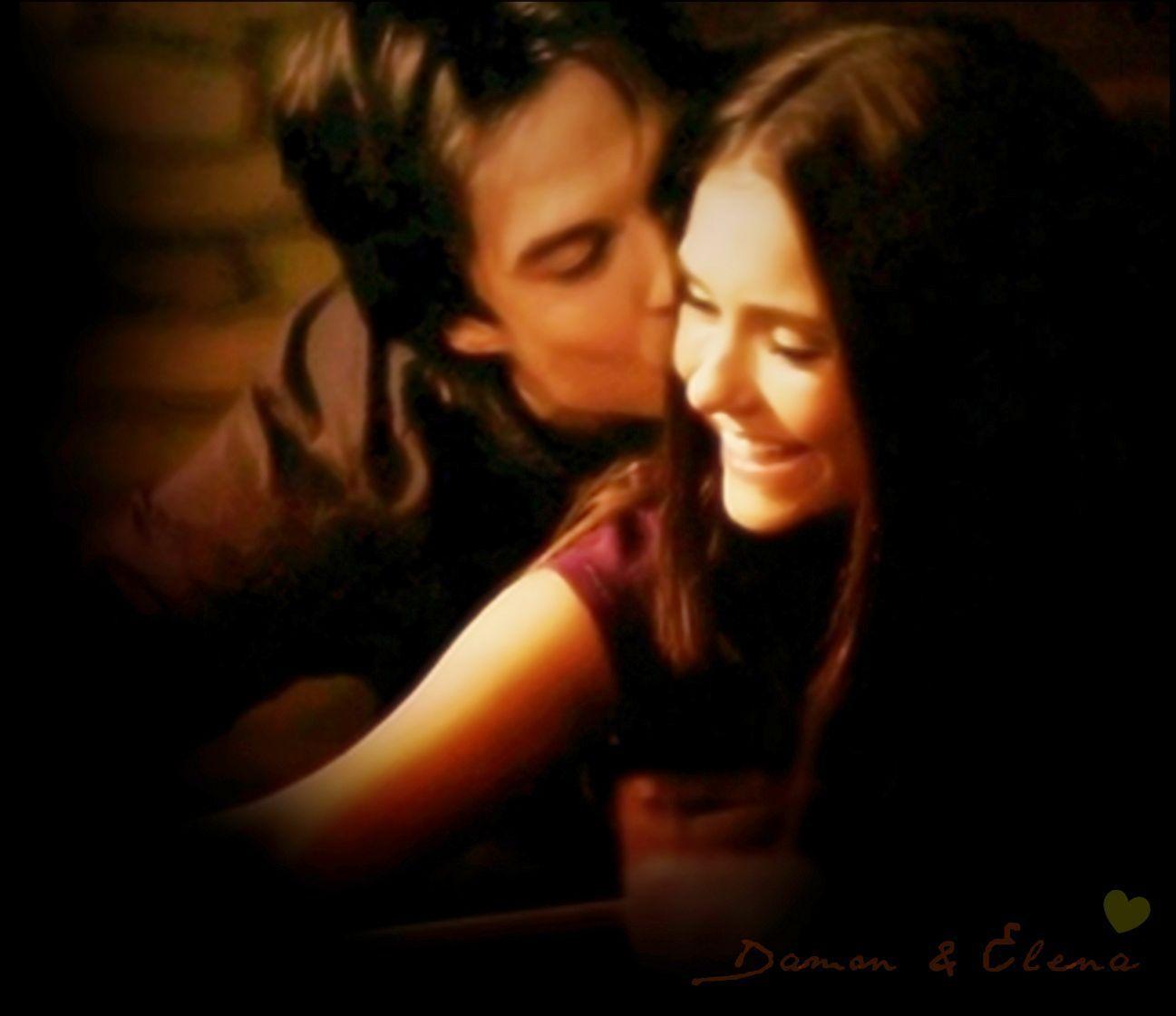 Damon Salvatore And Elena Gilbert Season 5