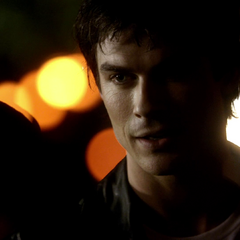what season does damon and bonnie get trapped