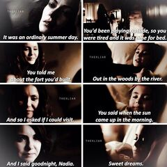 Nadia's dream with Katherine