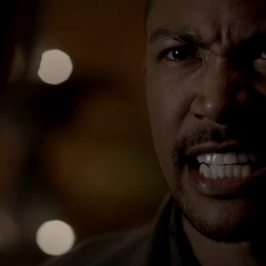 Marcel telling Klaus he is the King.