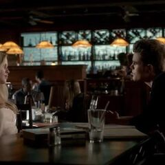 Stefan talks Rebekah into dining with Klaus