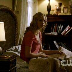 Caroline reading