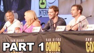 The Originals Panel Comic Con 2017 Part 1