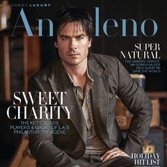 Modern Luxury Angeleno #164 — Nov 2016,United States, Ian Somerhalder