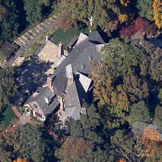 A bird's eye view of the house