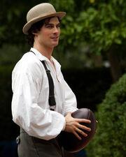 TVD105flashback Damon (football)