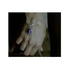 Katherine's amulet worn as a Bracelet