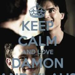 Keep Calm and love Damon and Klaus!