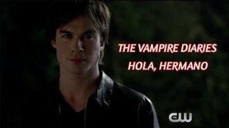 """The Vampire Diaries Dentro - """"Hola, hermano"""" (Sub Español)"""