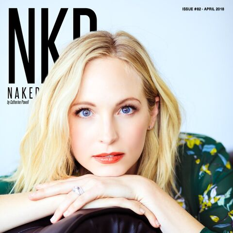 Naked#82 — Apr 2018, United States, Candice King