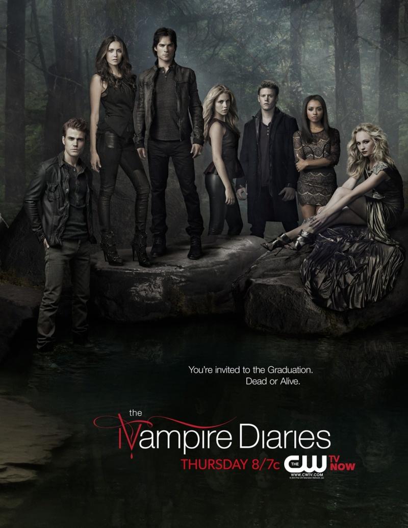 The Vampire Diaries Temporada 4 [2012] [720p BRrip] [Latino-Inglés] [GoogleDrive]