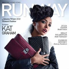Prestige Runway — Autum/Winter 2011, Hong Kong, Kat Graham