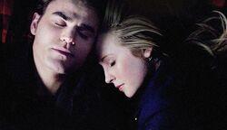 Stefan and Caroline 4x17