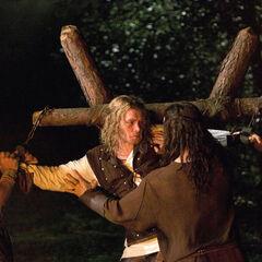 Mikael, Klaus, and Elijah