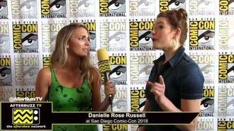 Danielle Rose Russell (Legacies) San Diego Comic-Con 2018