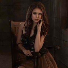 Nina Dobrev as Katherine Pierce photoshoot