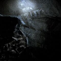 Original Family's Names On cave wall
