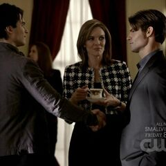 Damon and Elijah in the Lockwood mansion