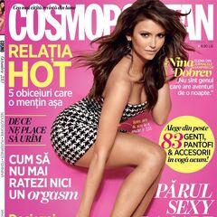 Cosmopolitan — Oct 2013, Romania, Nina Dobrev