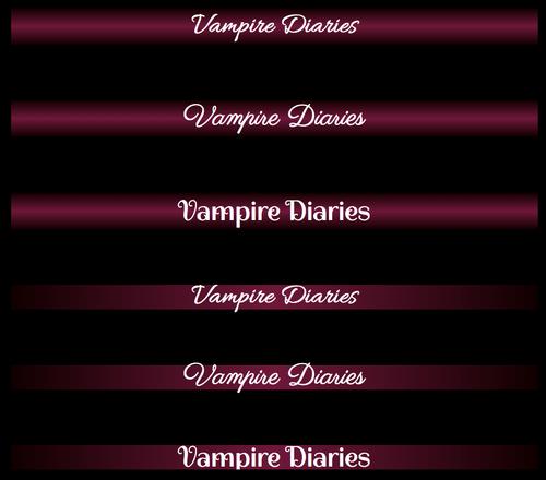 Vampire Diaries neuer Header Ideen