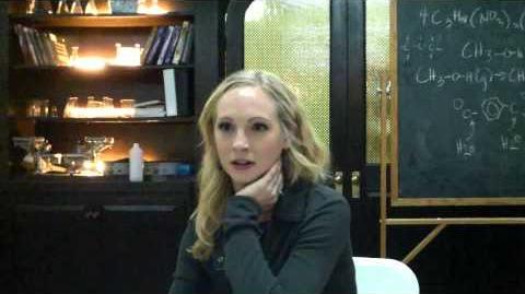 Candice Accola Talks Up Vampire Diaries Cast Closeness