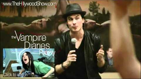 Ian Somerhalder & Paul Wesley talk about The Hillywood Show®