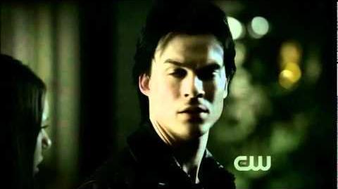 3x10 Damon kissed Elena The Vampire Diaries