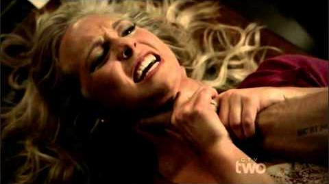 Caroline Saves Her Father And Beats Up Damon