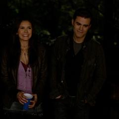 Elena und Stefan reden viel