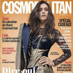 Cosmopolitan — Dec 2017, france, Nina Dobrev