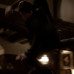 To throw Damon across the room