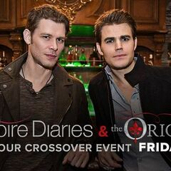 TVD/TO Crossover poster