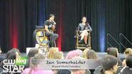 Ian Somerhalder Q&A at Wizard World Comic Con Columbus