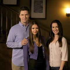 Grayson, Elena, and Miranda Gilbert