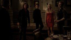 Finn, Elijah, Rebekah, Kol vs. Klaus