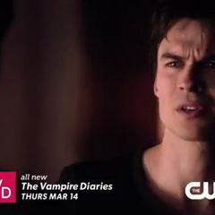 Damon talking to Stefan about Elena (Promo)