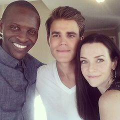 Paul Wesley, Annie Wersching, Jaiden Kaine July 31, 2015