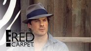 "Ian Somerhalder Teases Damon & Elena's ""TVD"" Reunion E! Live from the Red Carpet"