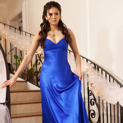 Elena at the Miss Mystic Falls pageant.