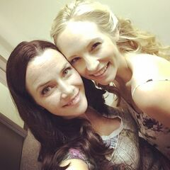 Annie Wersching, Candice Accola July 20, 2015