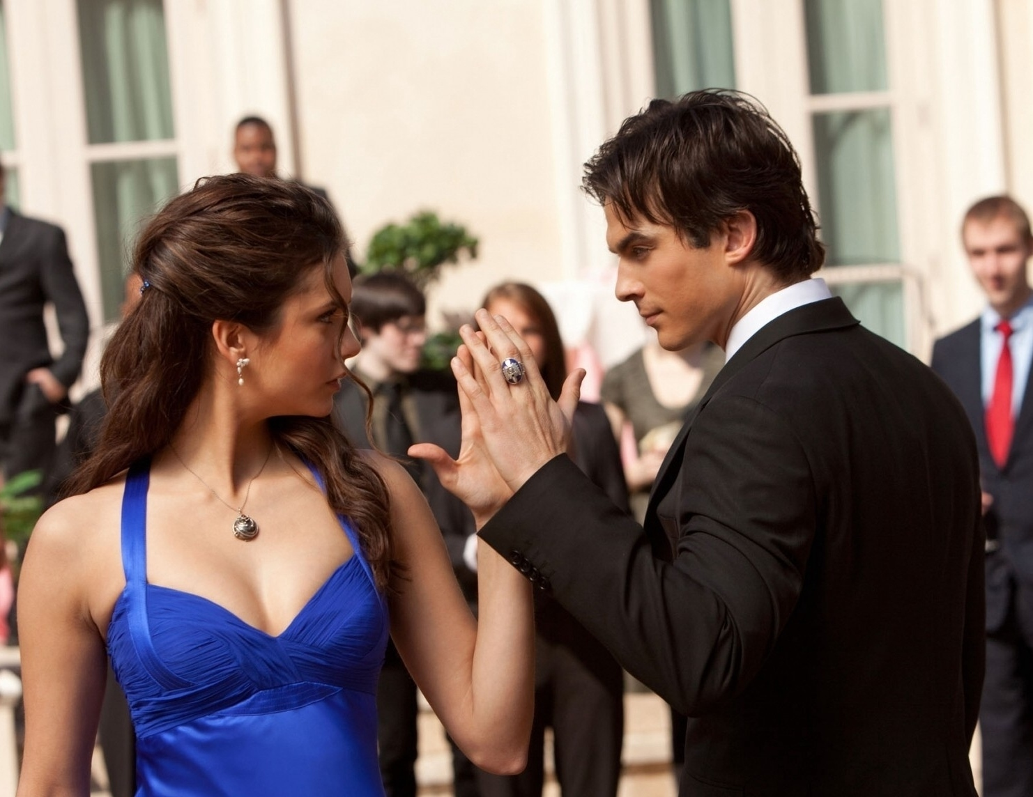 Can even In Show Does Dating The Elena Damon then
