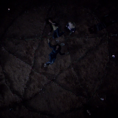 Aja's pentagram used to help channel Bonnie's power away
