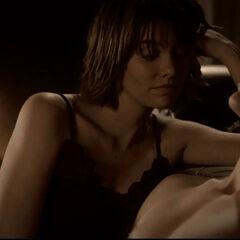 Damon und Rose nachdem sie miteinander geschlafen haben