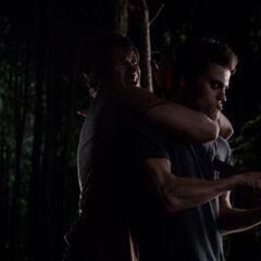 Silas impales Jeremy