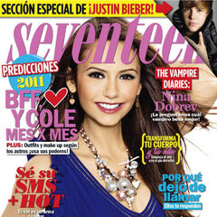 Seventeen — Jan 2011, Mexico, Nina Dobrev