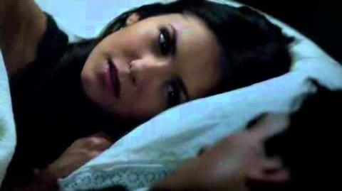 The Vampire Diaries - Damon and Elena 3x19 Elena kisses Damon Bed Scene (german subtitles)