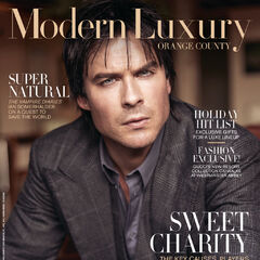 Modern Luxury Orange Country — Nov 2016,United States, Ian Somerhalder