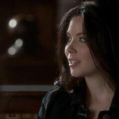 April waits for her best friend, Rebekah