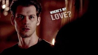 Where's my love -- Klaus & Camille